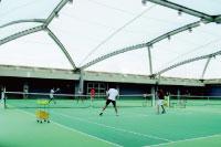 武蔵野ドームテニススクールイメージ